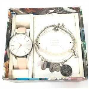 Stellar Love Watch and Bracelet New in Gift Box